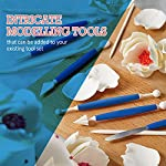 Frostinc Perfectly Assorted Cake Decorating Supplies 34 Pcs Kit - 10 Russian & Cone Icing Tips with 2 Couplers, 2 Reusable & 6 Disposable Piping Bags, 8 Model Tools, Scrapers & BONUS Items 14 ✅ PERFECTLY ASSORTED - Why buy expensive store-bought cakes? Frostinc provides all the cake tools you need to shape and decorate cake after cake with the added ENJOYMENT for less. Create the most diverse cake frosting designs with us. Unlike other kits, we've specially selected cake decorating supplies for your kitchen in this AMAZING bundle - achieve the best results to wow your friends and family. ✅ GREAT TASTE - When it comes to cake and cupcake decorating, you need the right tools in one set. Pipe and decorate with 4x russian icing tips, 6x cone icing tips, 2x couplers, 8x modelling tools, 2x heavy-duty reusable and 6x lightweight disposable piping bags, 3x cake levellers, 1x cupcake corer, 1x mini spatula, 1x instruction manual, 1x storage box and a complimentary cleaning brush. ✅ FREE GUIDE INSIDE - Buying for a child with no experience whatsoever? With such a GREAT selection of cake modelling and shaping tools, we want the task to be easy for you and those receiving your gift. Rest assured that our kit arrives with a printed instruction manual in addition to a handy ebook containing tips & recipes emailed directly to you. All of our kits have a LIFETIME WARRANTY so that you can decorate in confidence.