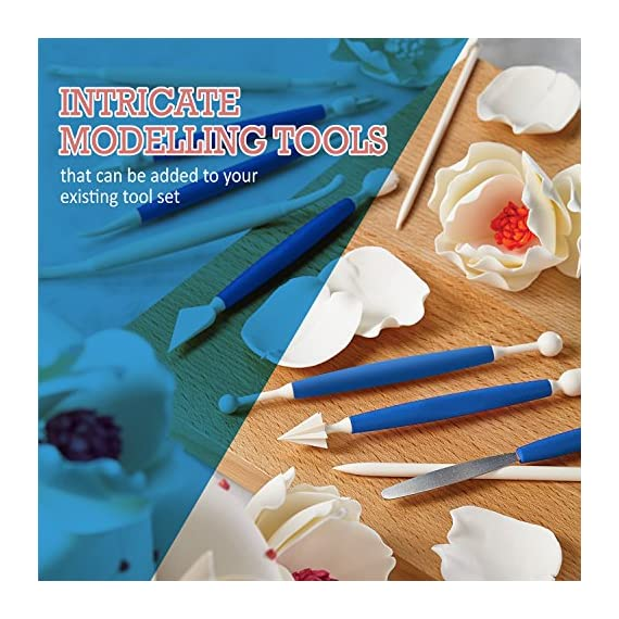 Frostinc Perfectly Assorted Cake Decorating Supplies 34 Pcs Kit - 10 Russian & Cone Icing Tips with 2 Couplers, 2 Reusable & 6 Disposable Piping Bags, 8 Model Tools, Scrapers & BONUS Items 6 ✅ PERFECTLY ASSORTED - Why buy expensive store-bought cakes? Frostinc provides all the cake tools you need to shape and decorate cake after cake with the added ENJOYMENT for less. Create the most diverse cake frosting designs with us. Unlike other kits, we've specially selected cake decorating supplies for your kitchen in this AMAZING bundle - achieve the best results to wow your friends and family. ✅ GREAT TASTE - When it comes to cake and cupcake decorating, you need the right tools in one set. Pipe and decorate with 4x russian icing tips, 6x cone icing tips, 2x couplers, 8x modelling tools, 2x heavy-duty reusable and 6x lightweight disposable piping bags, 3x cake levellers, 1x cupcake corer, 1x mini spatula, 1x instruction manual, 1x storage box and a complimentary cleaning brush. ✅ FREE GUIDE INSIDE - Buying for a child with no experience whatsoever? With such a GREAT selection of cake modelling and shaping tools, we want the task to be easy for you and those receiving your gift. Rest assured that our kit arrives with a printed instruction manual in addition to a handy ebook containing tips & recipes emailed directly to you. All of our kits have a LIFETIME WARRANTY so that you can decorate in confidence.