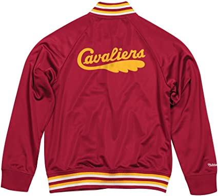 Mitchell & Ness Top Prospect Cleveland Cavaliers Burgundy - Chaqueta deportiva