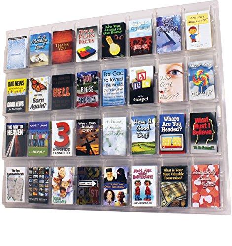 32-Pocket Wall-Mount Tract - Tract Display