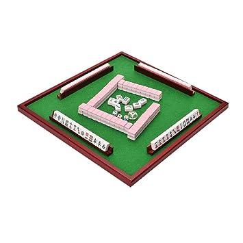 Juego de Mahjong portátil Chino Antiguo Mini Juegos de Mahjong ...