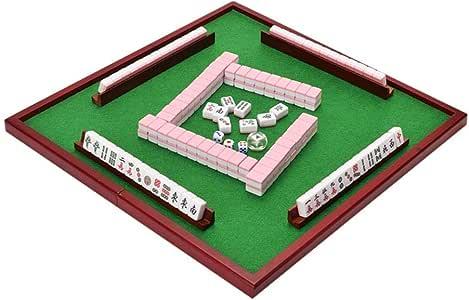 Juego de Mahjong portátil Chino Antiguo Mini Juegos de Mahjong Juegos caseros Mini Mahjong Chino Divertido Juego de Mesa de Mesa Familiar (Color : B) : Amazon.es: Juguetes y juegos