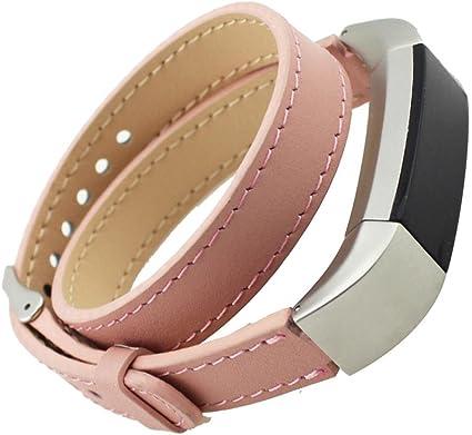 bracelet cuir fit bit alta hr