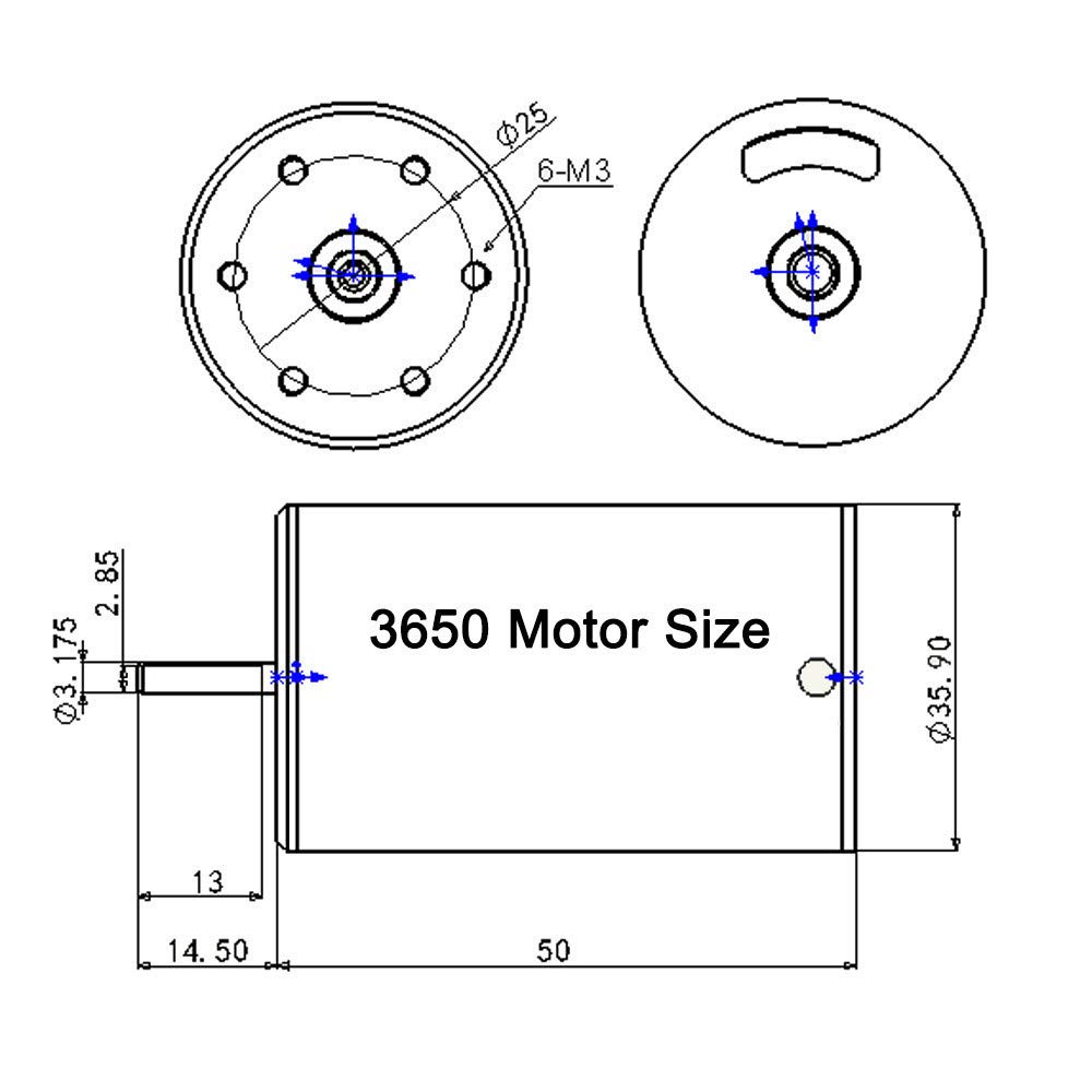 Waterproof 3650 4300kv Brushless Motor W 60a Esc Combo Mamba Max Pro Wiring Diagram Set For 1 10 Rc Car W9m5 As Baby