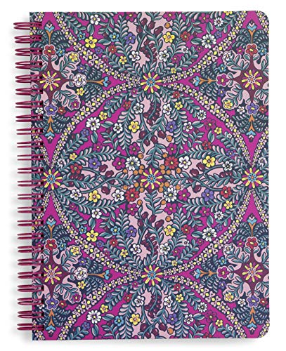 Vera Bradley Mini Spiral Notebook with Pocket and 160 Lined Pages, ()