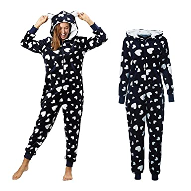 7be94a4ce991f Image Unavailable. Image not available for. Color  KOKOBUY Women s Jumpsuit  Onesie Jumpsuit One Piece Pajama Pajamas Tracksuit ...
