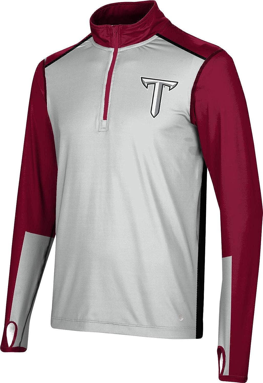 Sharp ProSphere Troy University Mens Quarter Zip Long Sleeve