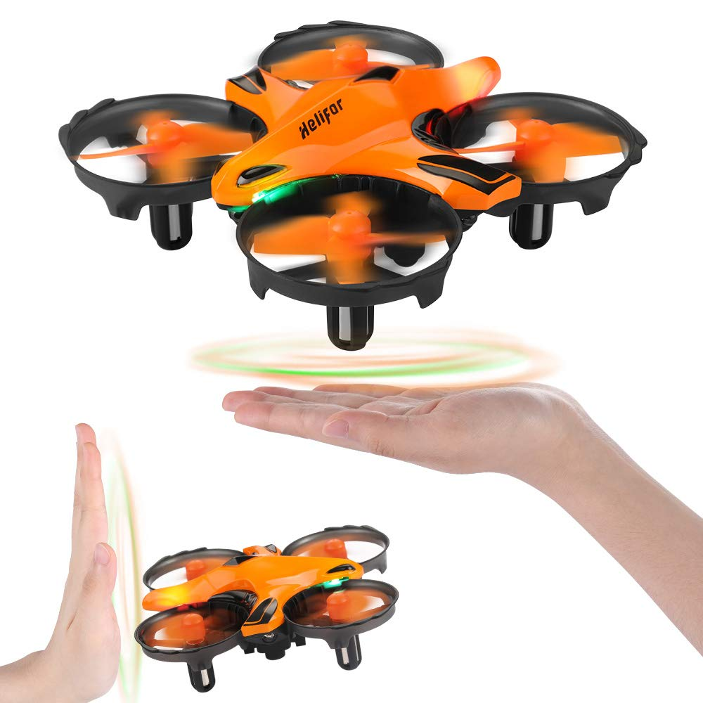 HELIFAR H803 Mini Drone RC Nano Quadcopter Best Drone for Kids & Beginners RC Quadcopter with Infrared Obstacle Avoid, Throw to Fly, Altitude Hold, Toys for Boys & Girls by HELIFAR
