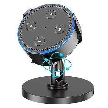 Zeeanker Mesa Soporte para Echo Dot (2.ª generación), Soporte Dot ...
