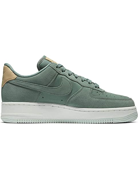5288a502e4f42 Zapatillas NIKE Air Force 1 07 PRM Verde Mujer 36 5 Verde  Amazon.es   Zapatos y complementos