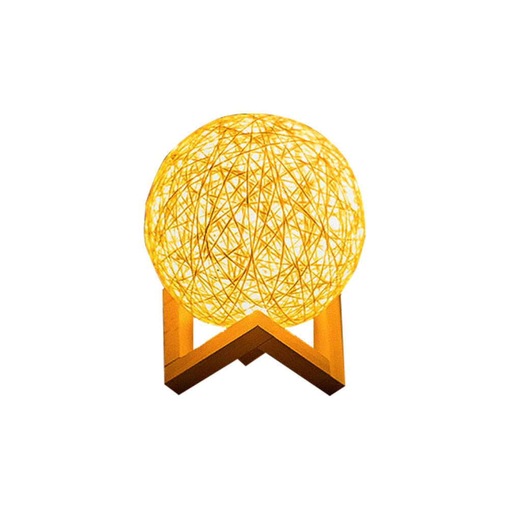 Windsor Home Deco, WH-62478A, 3D Print Moon Lamp, Desk Lamp