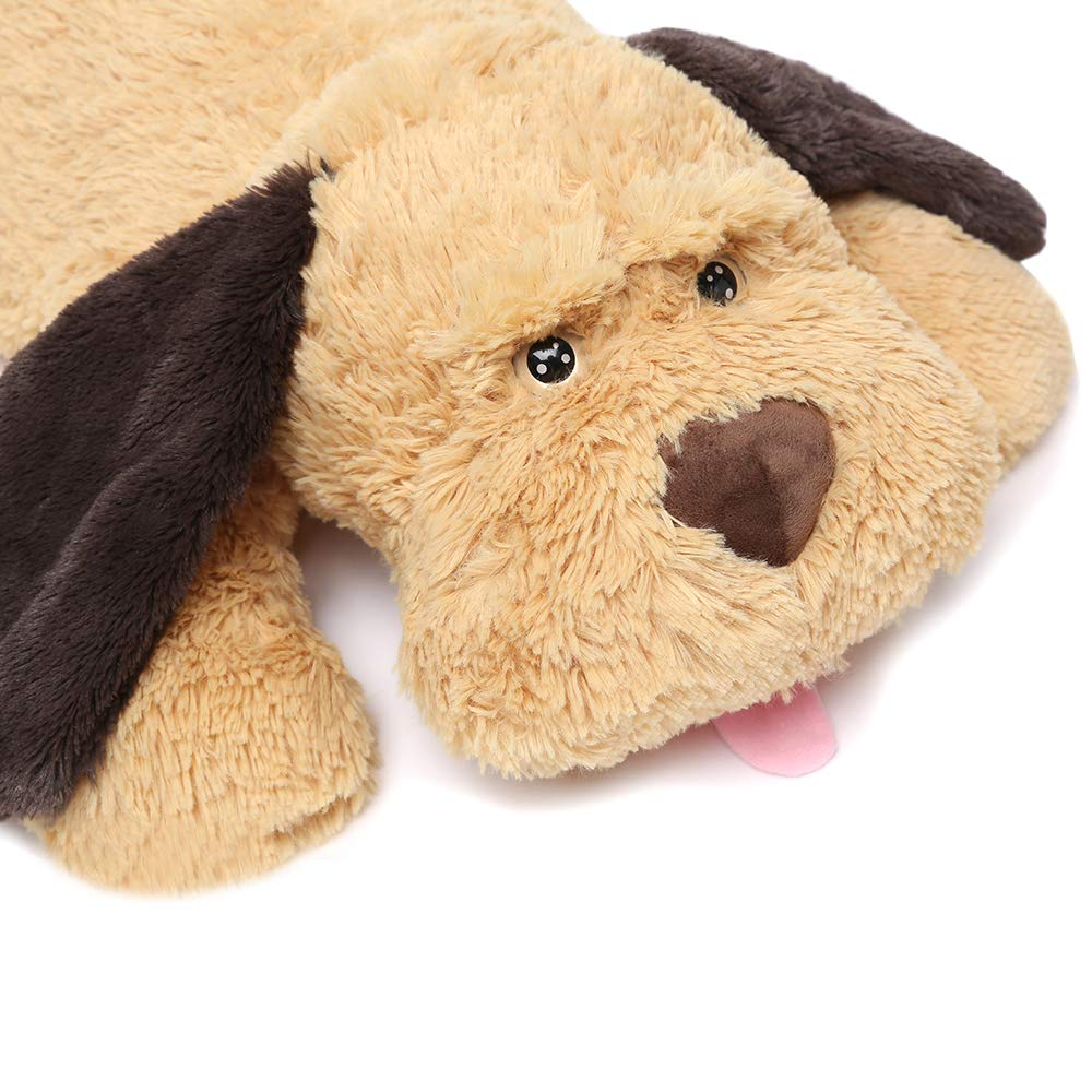 Mishion MaoGoLan Giant Stuffed Puppy Dog Big Plush Extra Large Stuffed Animals Soft Plush Dog Pillow Big Plush Toy for Girls Kids 51 inch