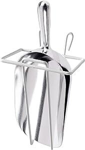 CUSINIUM 24 oz Aluminum Ice Scoop with Holder