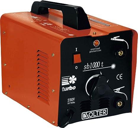 Solter 01053 Transformador de soldadura SB 1000T 5 W, 240 V