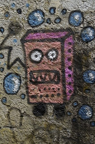 Home Comforts Laminated Poster Graffiti Sponge Bob Wall Painting Sprayed Sprayer Poster Print 11 x 17