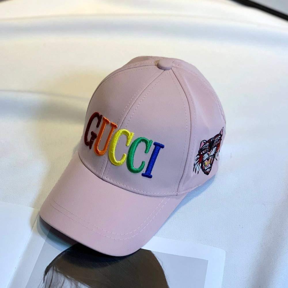 Gorra de béisbol Gorra de Letras para niñas Bordado de Color de ...