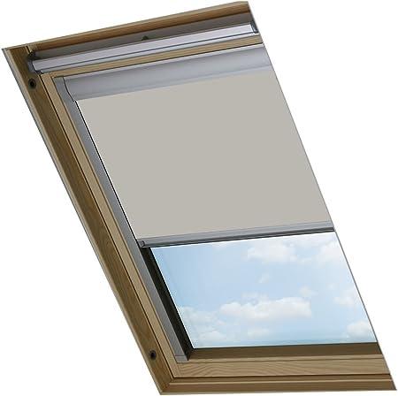 Bloc Skylight Store Sk06 Pour Fenêtres De Toit Velux Blockout Pâle Pierre