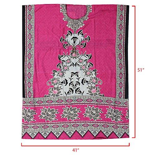 Enimay Women's Fashion Summer Kaftan Dress Kimono Style Pull Over Top 358 Blue