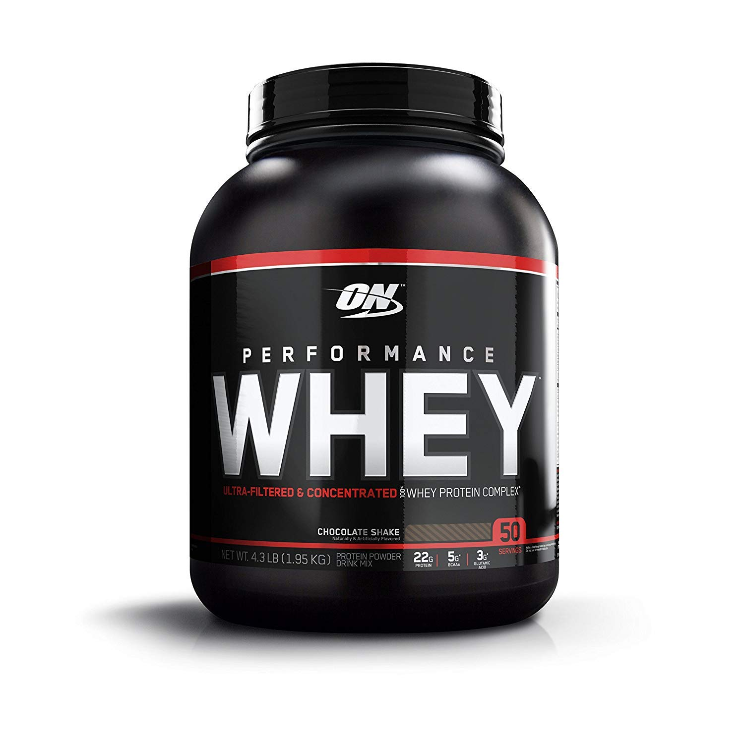 OPTIMUM NUTRITION Performance Whey Protein Powder, Whey Protein Concentrate, Whey Protein Isolate, Hydrolyzed Whey Protein Isolate, Flavor: Chocolate Shake, 50 Servings by Optimum Nutrition