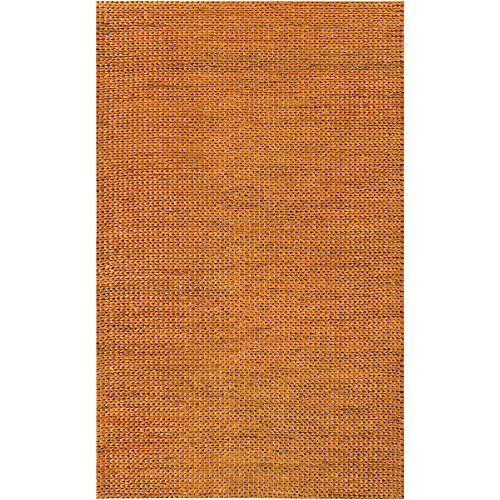 and Woven 100-Percent Jute Natural Fiber Accent Rug, 3-Feet 6-Inch by 5-Feet 6-Inch (3656 Natural)