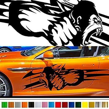 Amazoncom King Kong Car Sticker Car Vinyl Side Graphics Car - Custom car graphics