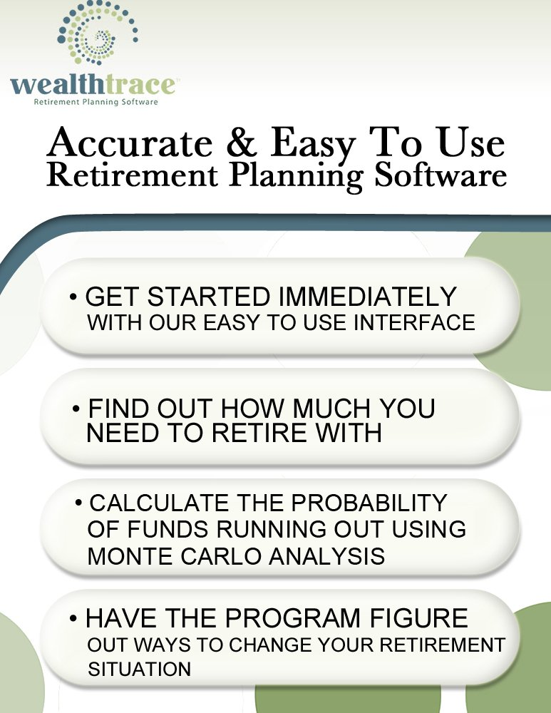 WealthTrace Retirement Planner (Advanced Version) [Download] by WealthTrace