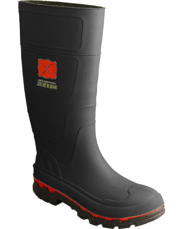 1bdb7b6f690 Twisted X Men's Rubber Boot Steel Toe - Mwbs002