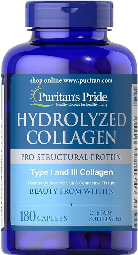 Colageno hidrolizado, 1000 mg 180 Caps: Amazon.es: Salud y ...