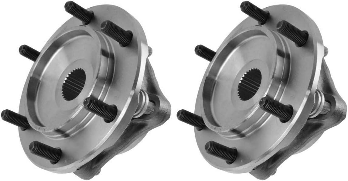 AutoShack HB5110448PR Pair of 2 Wheel Bearing Hub Front Wheel Hub ...