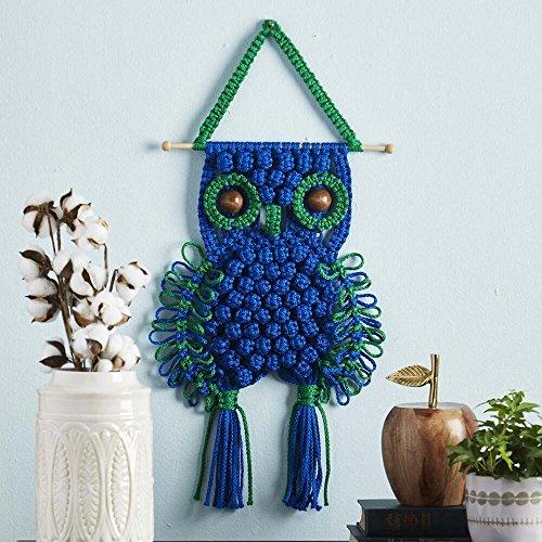 Herrschners® Bright Owl Macramé Wall Hanging ()