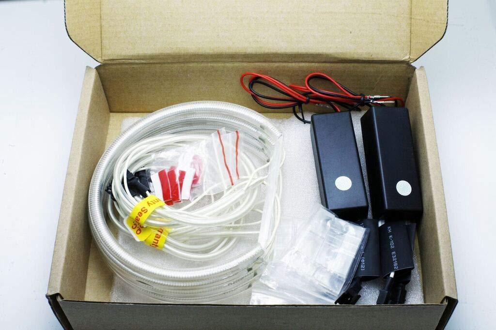 CCFL ANGEL EYES STANDLICHTRINGE RINGE STANDLICHT 4 x 131 mm CANBUS E46 E39 E38 E36 Wei/ß 7000K