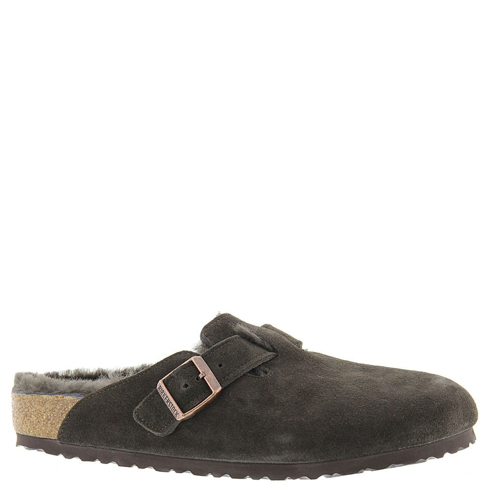 Birkenstock Boston Shearling Lined Women's Slip On 37 N EU Mocha-Mocha