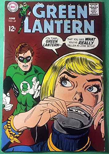 Green Lantern (1960) #69 VF (8.5) Wally Wood inks