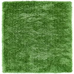 Kaleen Rugs Posh Collection PSH01-96 Lime Green Handmade 9' x 12' Rug