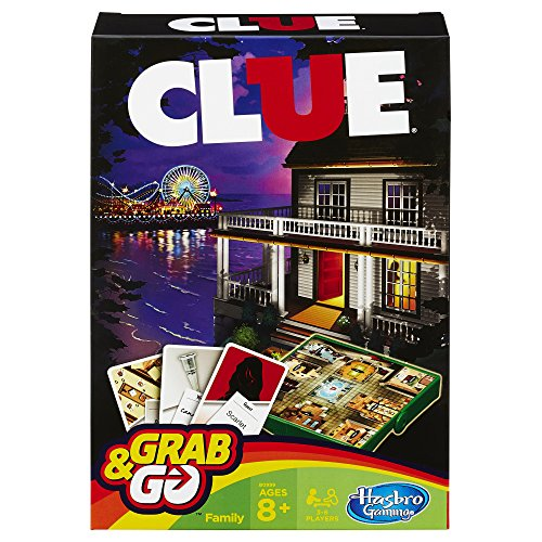 (Clue Grab and Go Game (Travel Size) )