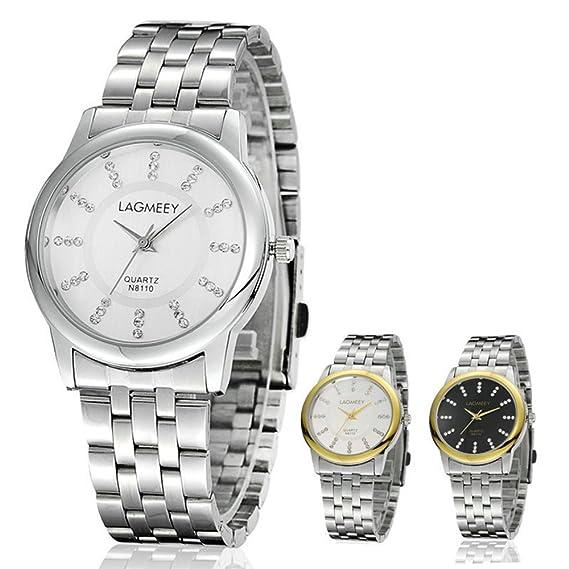 Mujer Marcas Reloj Lagmeey Relojes descuento al por mayor Mecánica: Amazon.es: Relojes