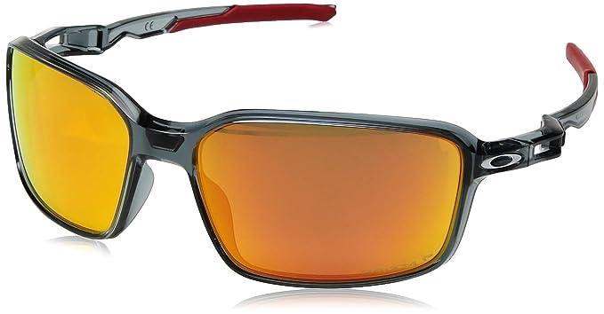 4b4cc9eab65 ... spain oakley mens siphon polarized iridium rectangular sunglasses  crystal black 0b859 cc0bf