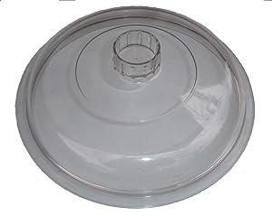 Rival Crock Pot Slow Cooker 3100 3100/2 3120 3150 Genuine Original Plastic Lid 7 3/4 Outside Diameter