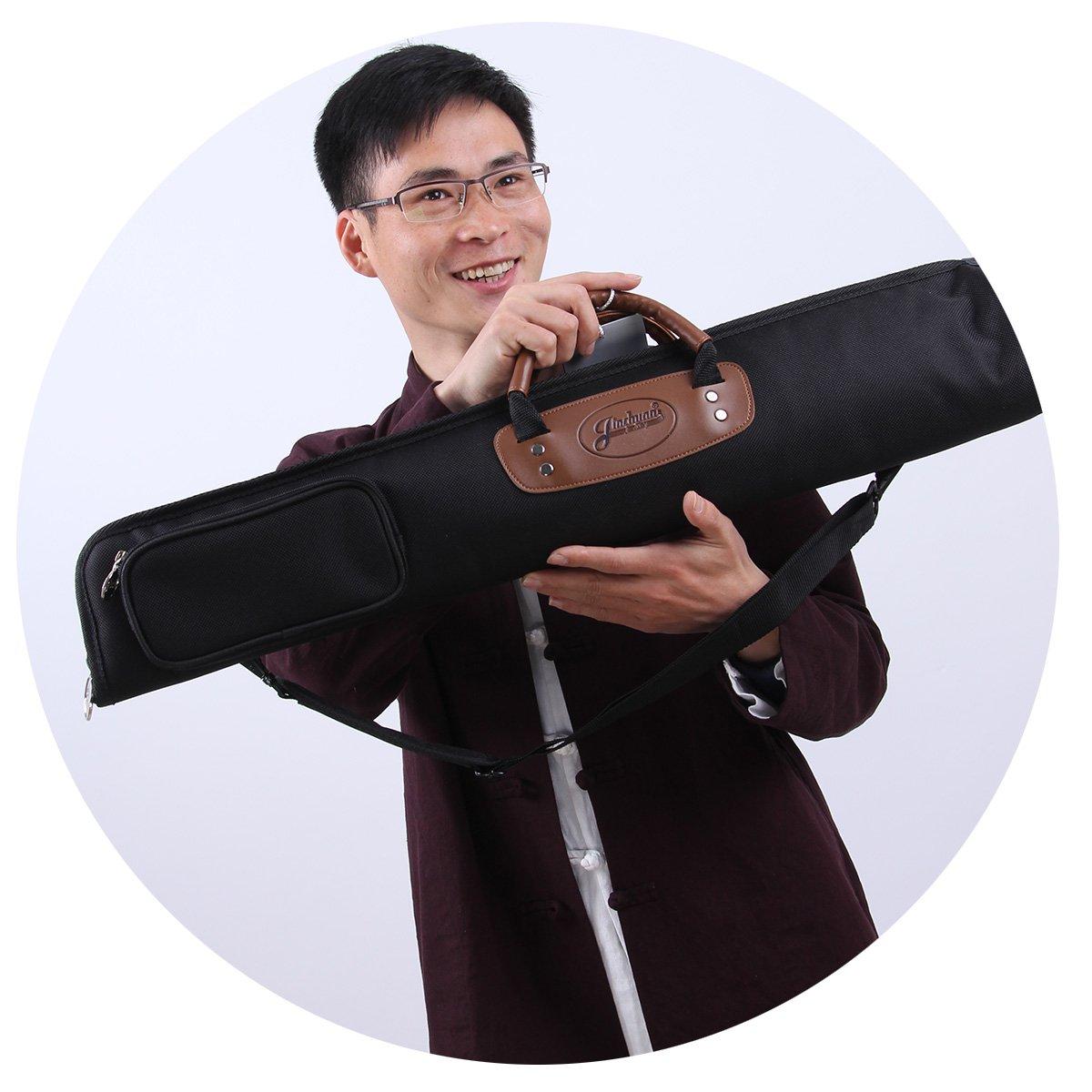 Jiuxun Soprano Saxophone Bag & Case 1200D Water-resistant Oxford Cloth bB Saxes handbag and Backpack Jinchuan 4334279290