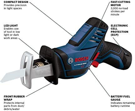 Bosch PS60-102 Reciprocating Saws product image 2