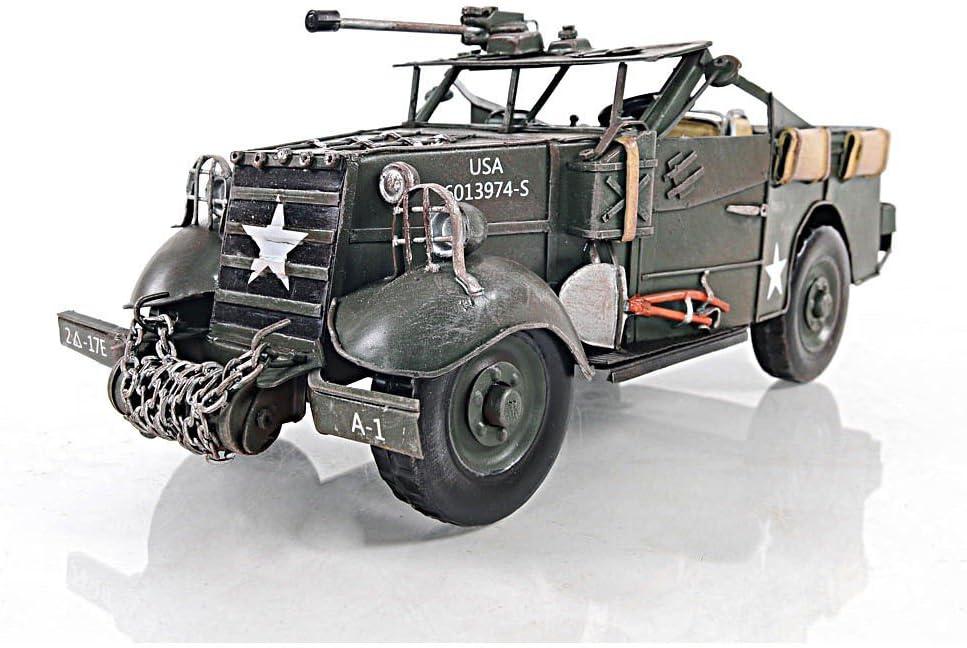 シボレー 30 cwt LRDG ミリタリー トラック 13インチモデル 模型 完成品 [並行輸入品]