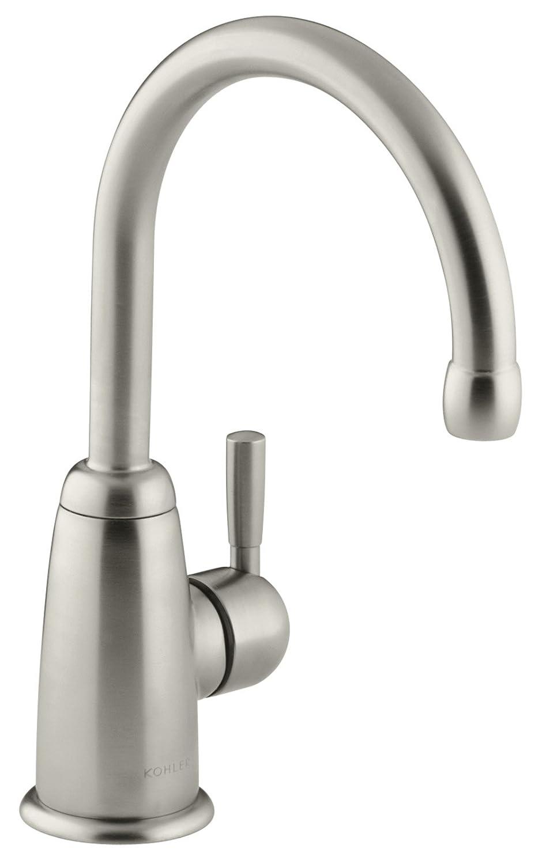 KOHLER K-6665-BN Wellspring Beverage Faucet, Vibrant Brushed Nickel