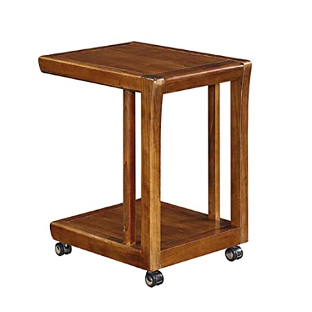 10e06bf07cb36 CLOTHES- American Country Movable Small Coffee Table Breakfast Table Small  Desk  Amazon.co.uk  Kitchen   Home