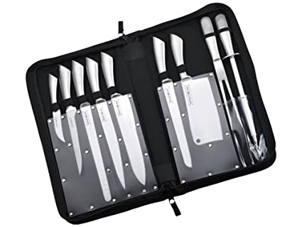 Amazon.com : Set 10 pieces BARBECUE knives Royalty Line ...