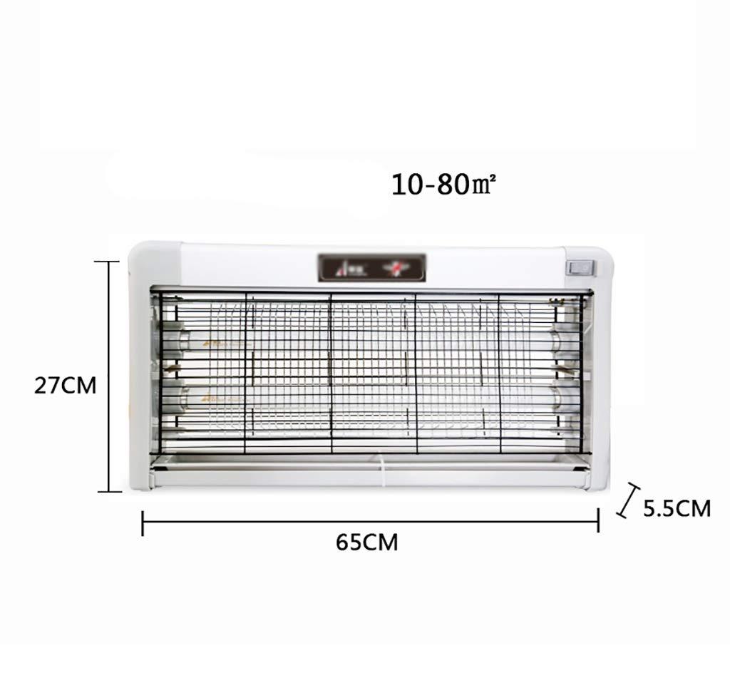 蚊キラー 電気屋内蚊キラー、飛んでいる昆虫のキラーUV光、電子バグザッパー、強力な1800V電源グリッド (Size : 65x27cm) B07STDVB7C  65x27cm