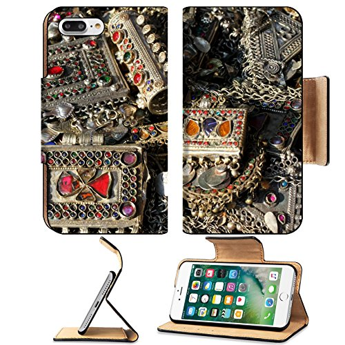 liili-premium-apple-iphone-7-plus-flip-pu-leather-wallet-case-ancient-bracelet-and-various-vintage-m