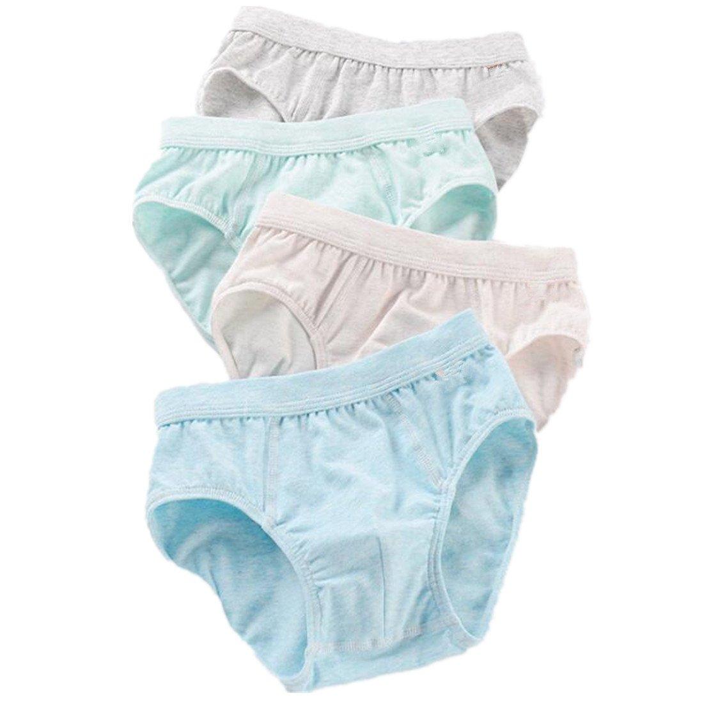 zw99 Store Little/Big Boys Underwear Briefs Kids Comfortable Cotton Panties