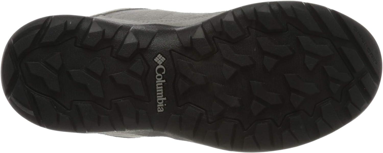 Columbia Fire Venture S II Mid WP, Chaussures Multisport Femme Gris Ti Titanium la