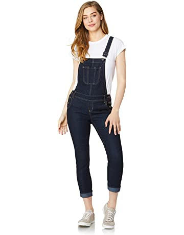 1f3836220e2b3d WallFlower Women s Juniors Denim Overalls