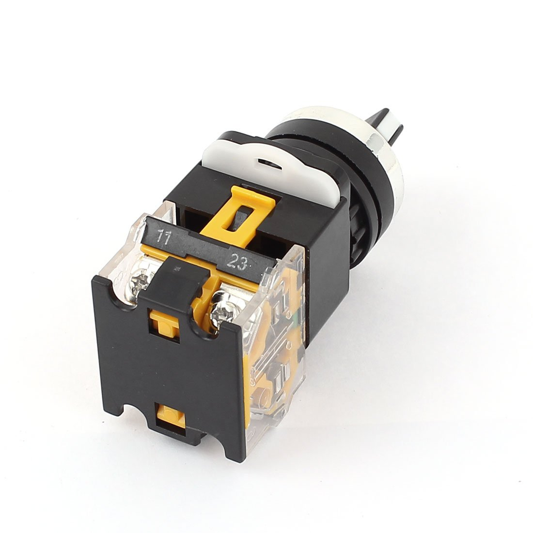 SOURCING MAP sourcingmap AC 380V 10A 2 posiciones DPST enclavamiento Selector selector giratorio 5 PC Bloqueo